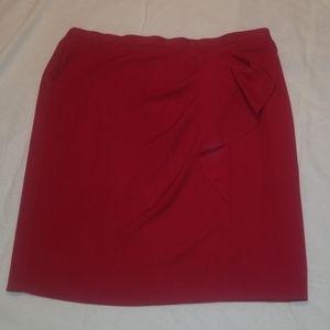 💥Red detailed Skirt